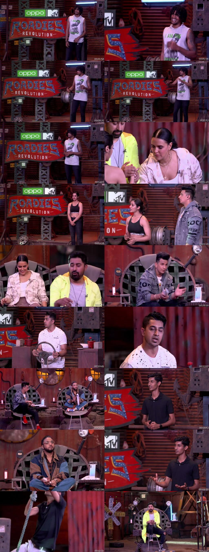 Screenshots Of Hindi Show MTV Roadies Season 18 28th March 2020 300MB 480P HD