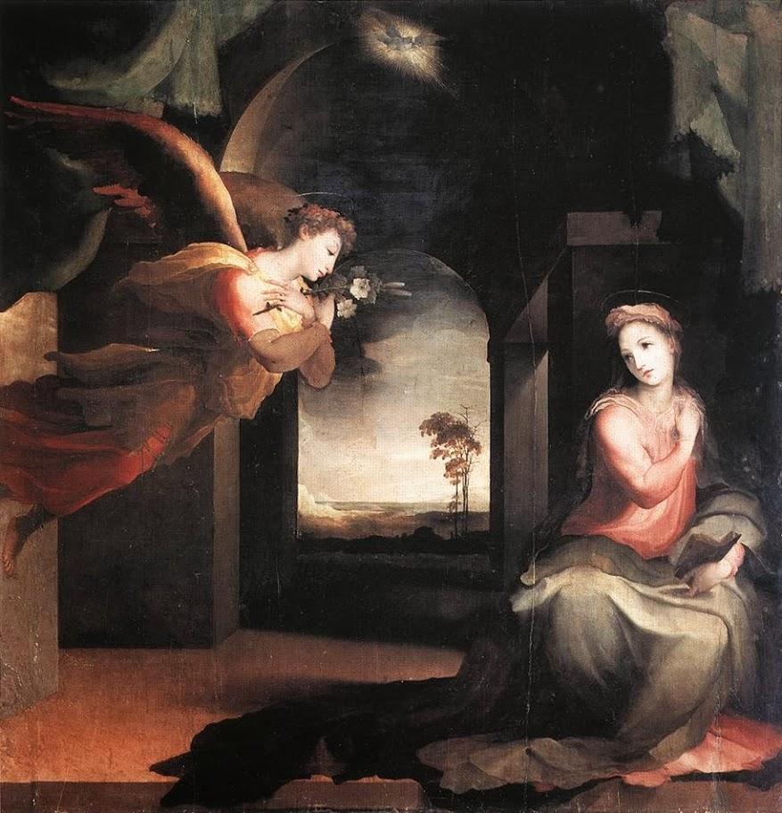 Domenico Beccafumi - The Annunciation