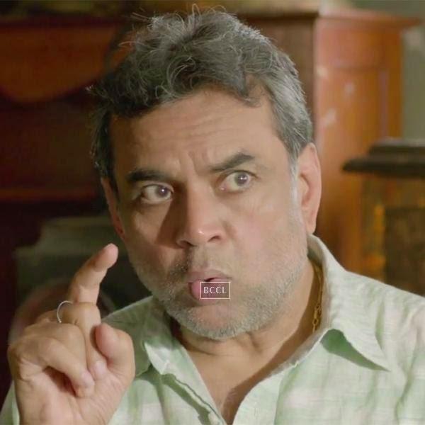 Paresh Rawal in a still from the Bollywood film Raja Natwarlal.
