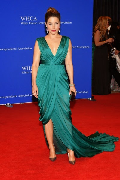 Sophia Bush attends the 101st Annual White House
