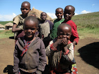 Super cute kids - Maasai Village Visit