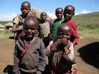 Super cute kids - Maasai Village Visit