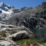 Fotos do trekking á Laguna Churup, Cordillera Blanca. Andes. Perú