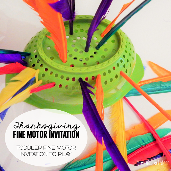 Thanksgiving Fine Motor Invitation