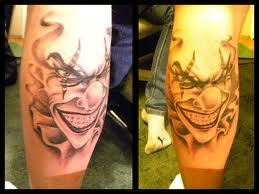 tatuaże klaun