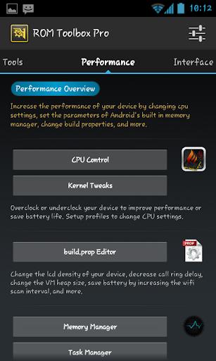 ROM Toolbox Pro aplikasi android lengkap