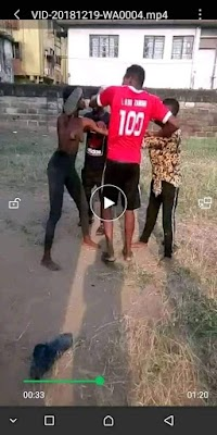 A popular Facebook slay queen(single mother)#Kiki_O_Adornment from Ibadan has been physically beaten up by another Facebook slay king by name #cammy_Khalid