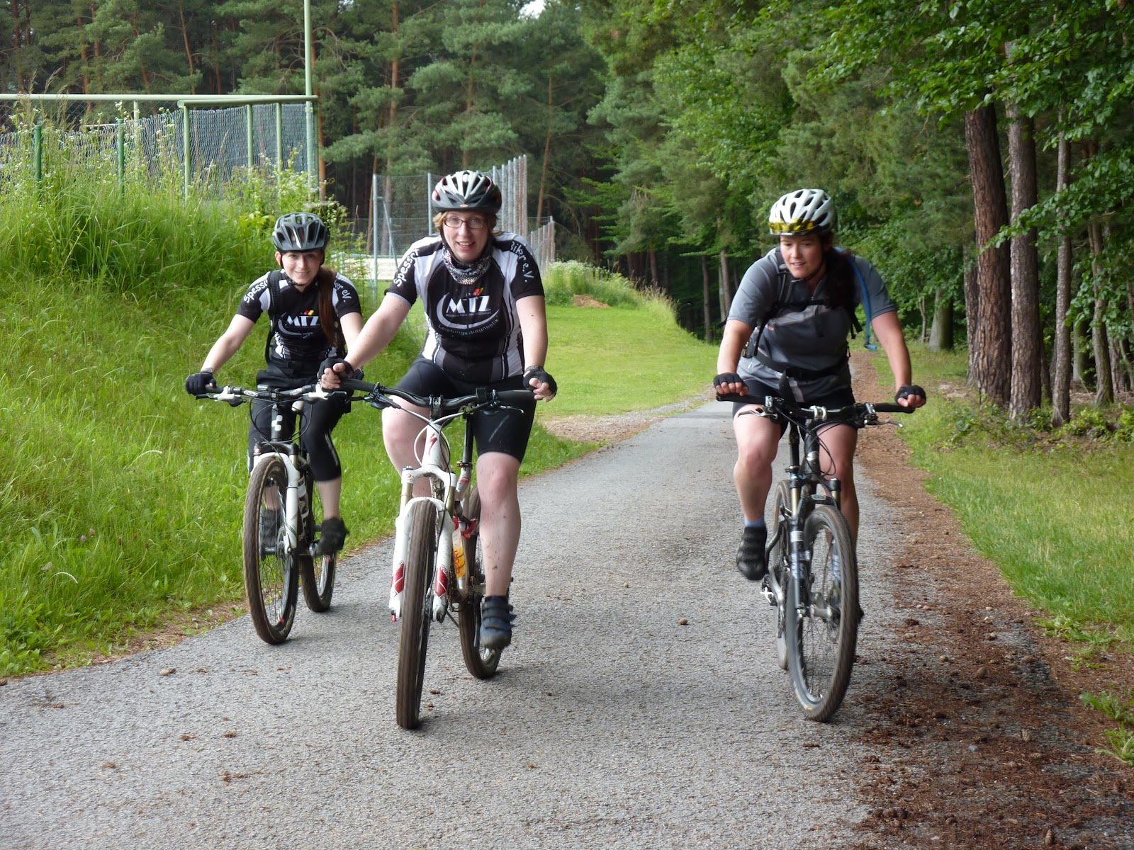 Spessart-Biker-Mädelstour