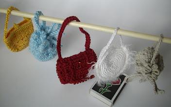 Photo: Кукольные сумочки связаны на заказ