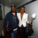 WWW.ENTSIMAGES.COM -   Dappa Pappa and Sabrina Washington of Mis-Teeq   at       Bloggers love Fashion Party at Penthouse Leicester Square September 17th 2013                                             Photo Mobis Photos/OIC 0203 174