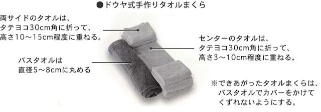 かんたん手作り枕