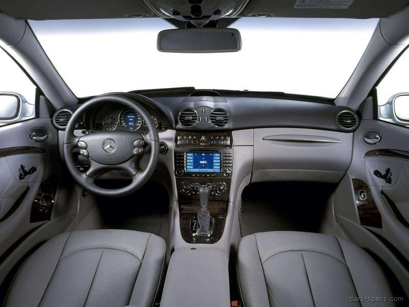 2006 MercedesBenz CLKClass Coupe Specifications Pictures Prices