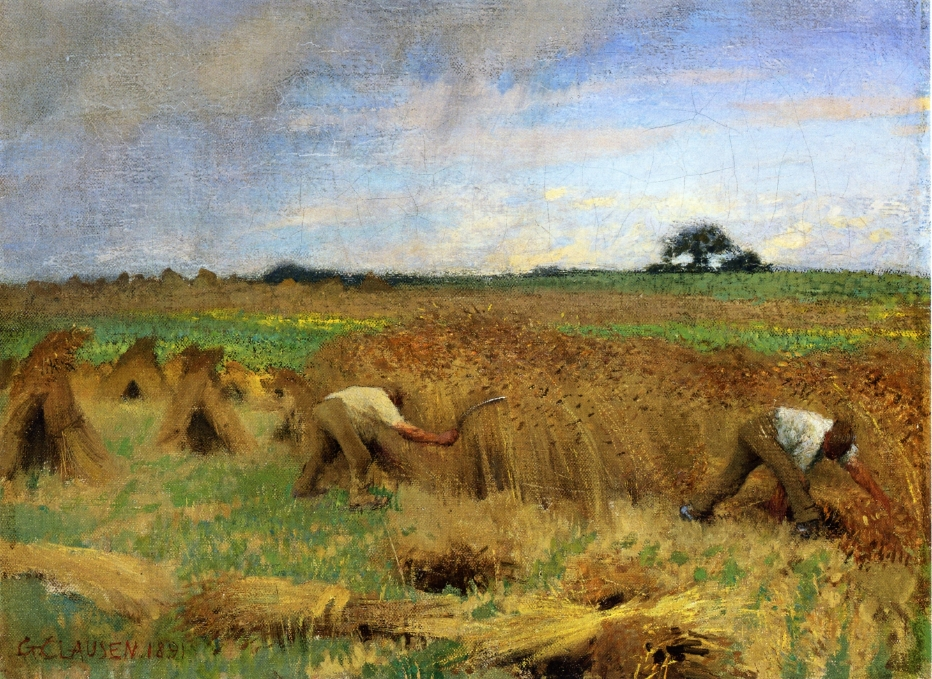 Sir George Clausen - Reapers