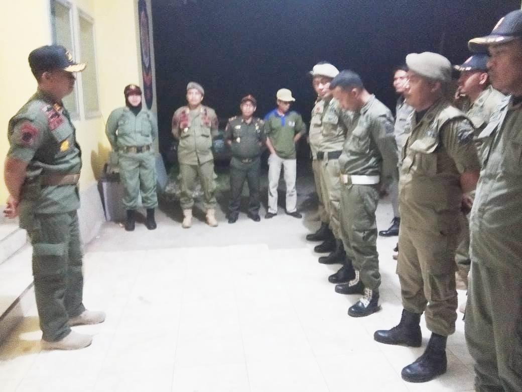 Sebanyak 7 Orang Terduga Pelaku Kejahatan Jalanan Terjaring Operasi Cipkon Gabungan Polsek Benteng dan Satpol PP