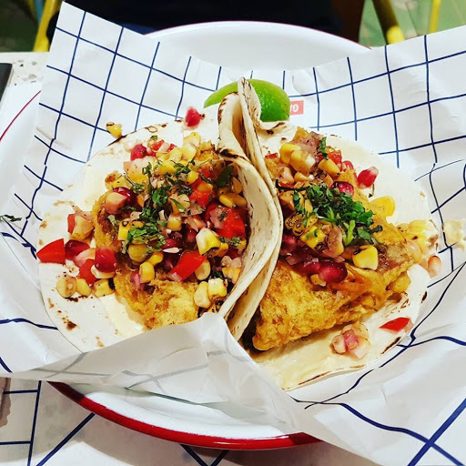 Otak otak taco from Gallery & Co at National Gallery Singapore