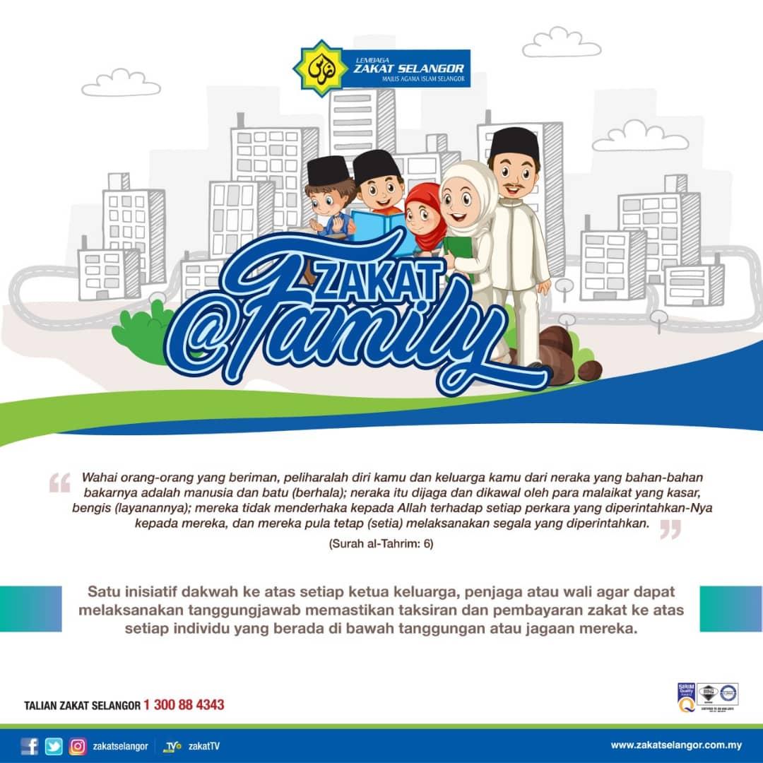Zakat@Family Inisiatif Dakwah Bagi Tanggungjawab Zakat Berkeluarga