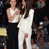 OIC - ENTSIMAGES.COM - Emma Willis and Helen Wood at the Big Brother 2015 - fifth eviction London June 12th 2015  Photo Mobis Photos/OIC 0203 174 1069