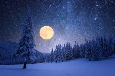स्नो मून 2021  Snow Moon About In Hindi