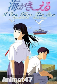 Ocean Waves -Umi ga Kikoeru - Anime Umi ga Kikoeru 2013 Poster