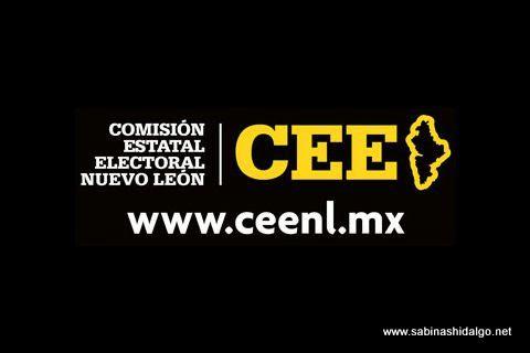 Logotipo de la Comisión Estatal Electoral de Nuevo León