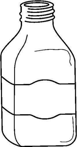 Dibujos De Botes Y Botellas Para Pintar Y Colorear