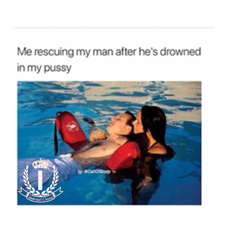Me rescuing my man after he's drowned in my pussy