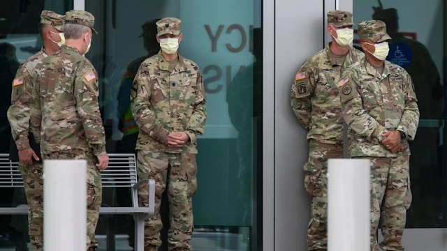 U.S. Army Corps Of Engineers Deployed To Assist Los Angeles Area Hospitals