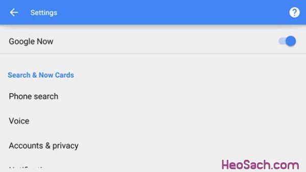 Hình 6 - Cách khắc phục lỗi trên hệ điều hành Android 5.0 Lollipop