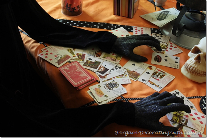 Witch with Tarrot Cards