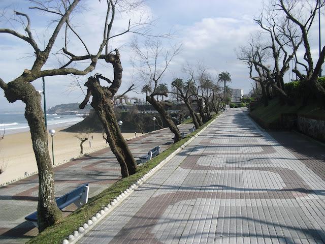 Jardines sobre la Segunda Playa del Sardinero
