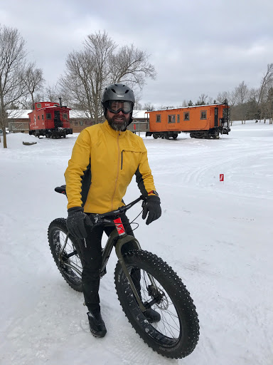 Sunday morning fat bikers!