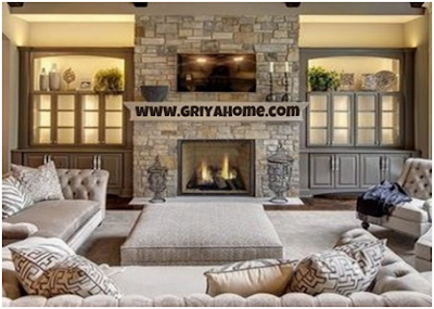 Desain Interior Ruang Tamu Elegan