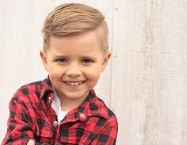 She Wears Art: Little Boy\'s Haircut Nightmares Go Away!