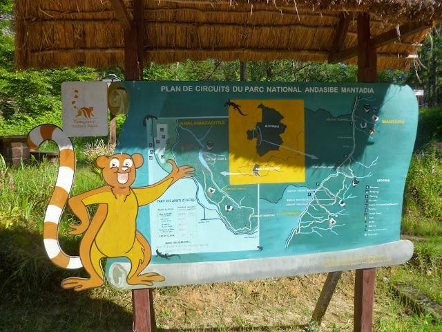 À l'entrée du Parc Andasibe-Mantadia (Périnet, Madagascar), 26 décembre 2013. Photo : J. Marquet