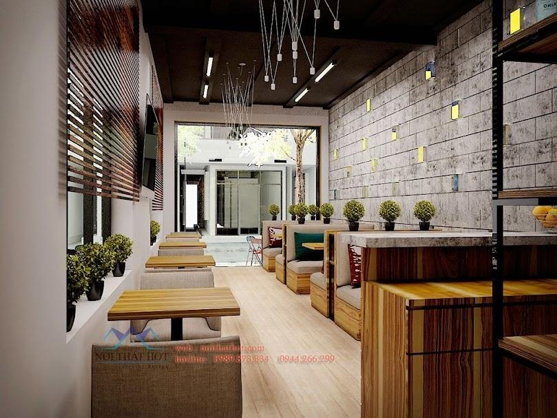 Thiết kế quán cafe uy tín chất lượng cao