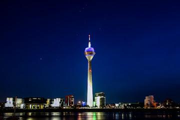 Düsseldorf Rheinturm TV Tower