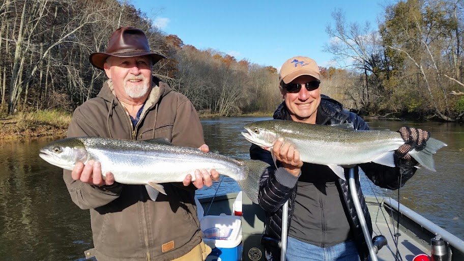Muskegon River Steelhead Fishing Guide