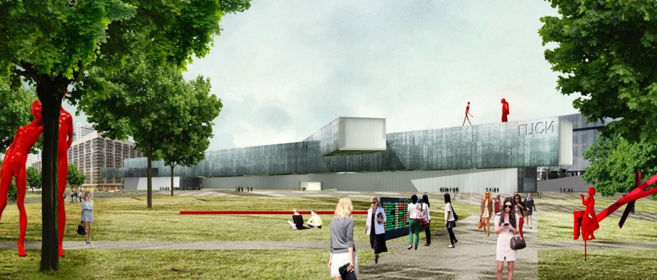 Mosca, Russia: Wai Architecture Think Tank'S Proposal For Ncca Competition