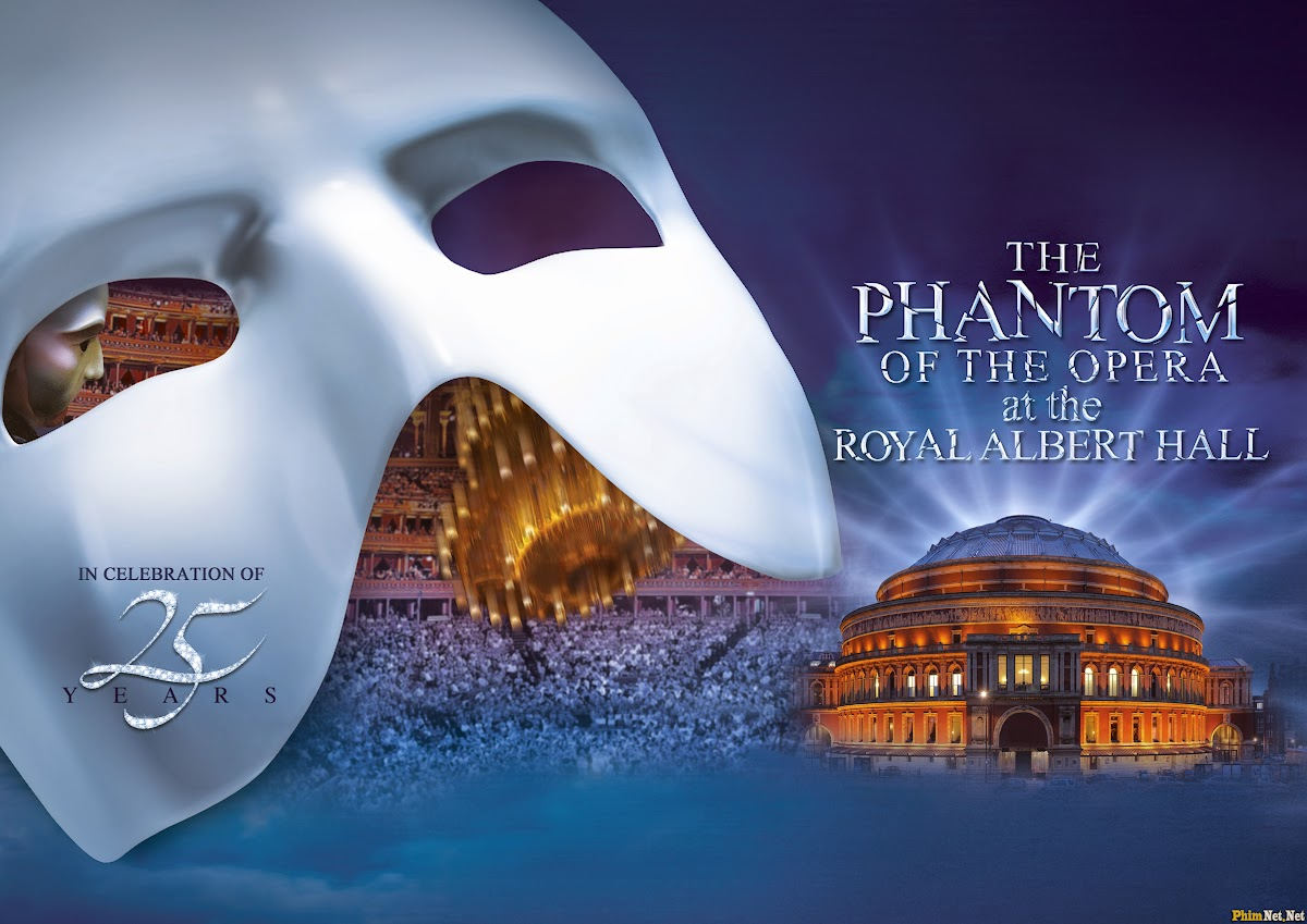 Xem Phim Bóng Ma Nhà Hát - The Phantom Of The Opera At The Royal Albert Hall - Wallpaper Full HD - Hình nền lớn