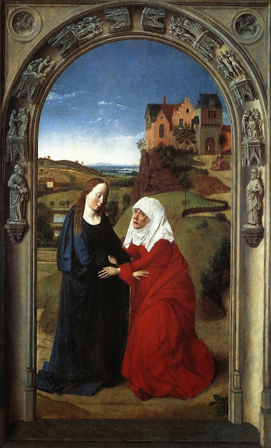 Dieric Bouts - The Visitation