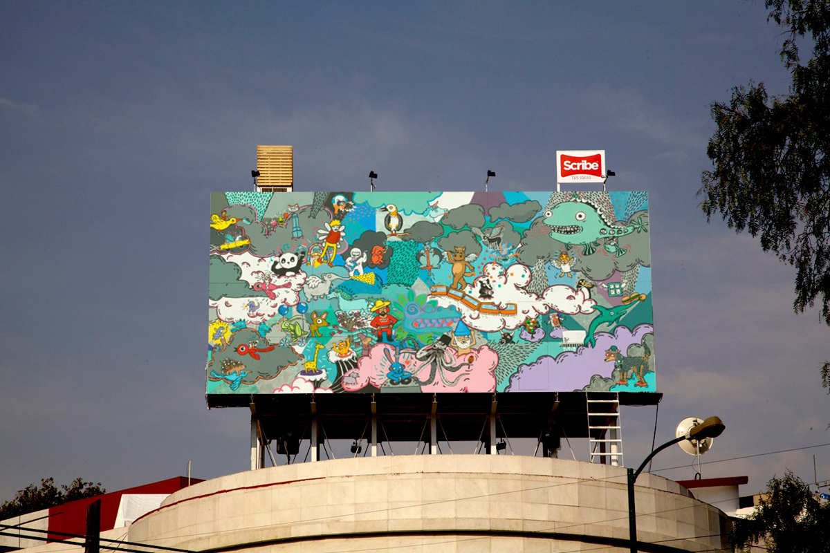 *藝術家 julio gomez trevilla:廣告刊版的房子! 3