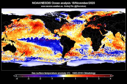 Εξασθένηση της ψυχρής φάσης La Niña : Τι σημαίνει αυτό για τον παγκόσμιο καιρό;