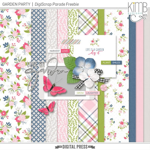 DigiScrap Parade Freebie