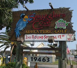 Photo: On Saturday June 5th we went to play Adventure Miniature Golf @ Smugglers Cove