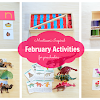 Montessori Inspired February Activities for Preschoolers