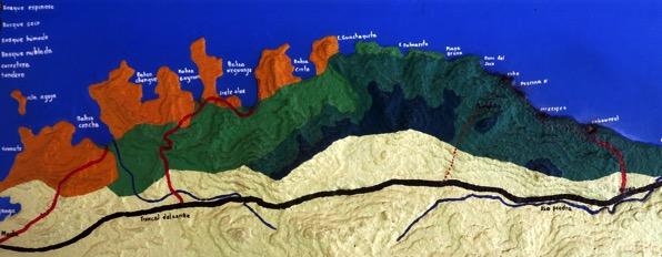 Map of Tayrona