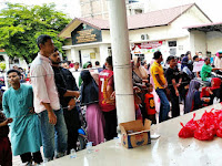 850 Warga Pulo Ara, Terima Paket Daging Qurban