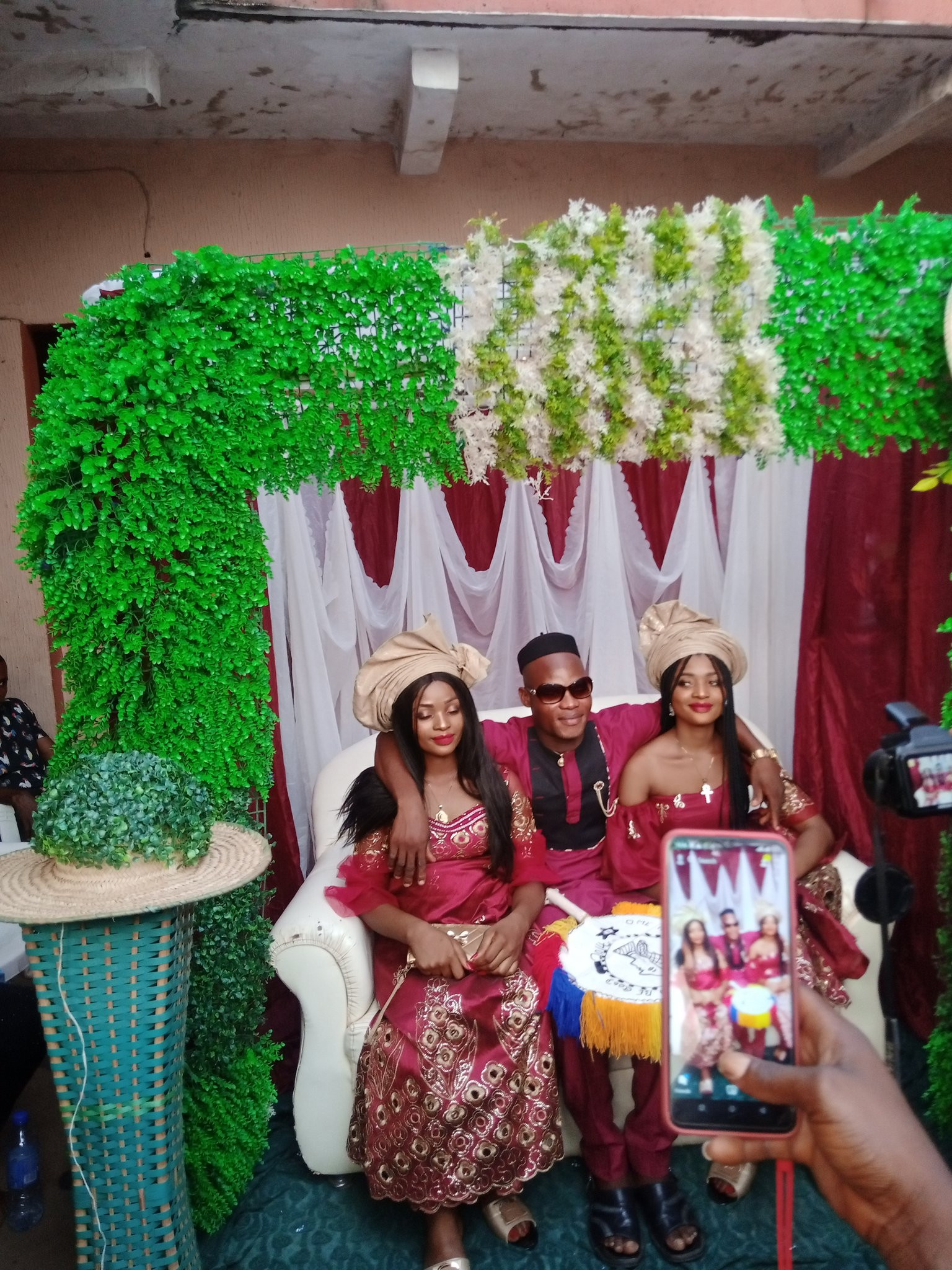 Nigerian man marries twins because 'they can't live without each other' (video/photos)