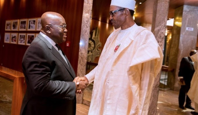 Ghana's President, Akufo-addo Congratulates Buhari On His Re-election