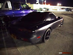 Matte Black Mazda RX7